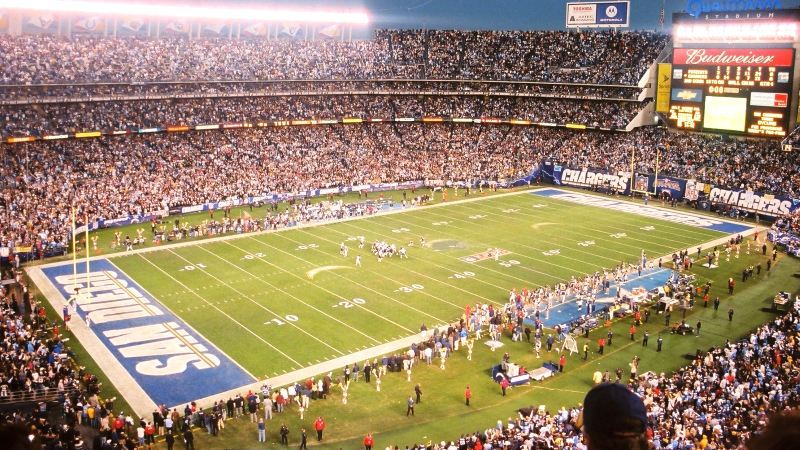 Limo Service San Diego Chargers Qualcomm Stadium